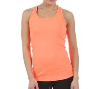 Under Armour Tops - Under Armour Victory Tank L Orange Activewear